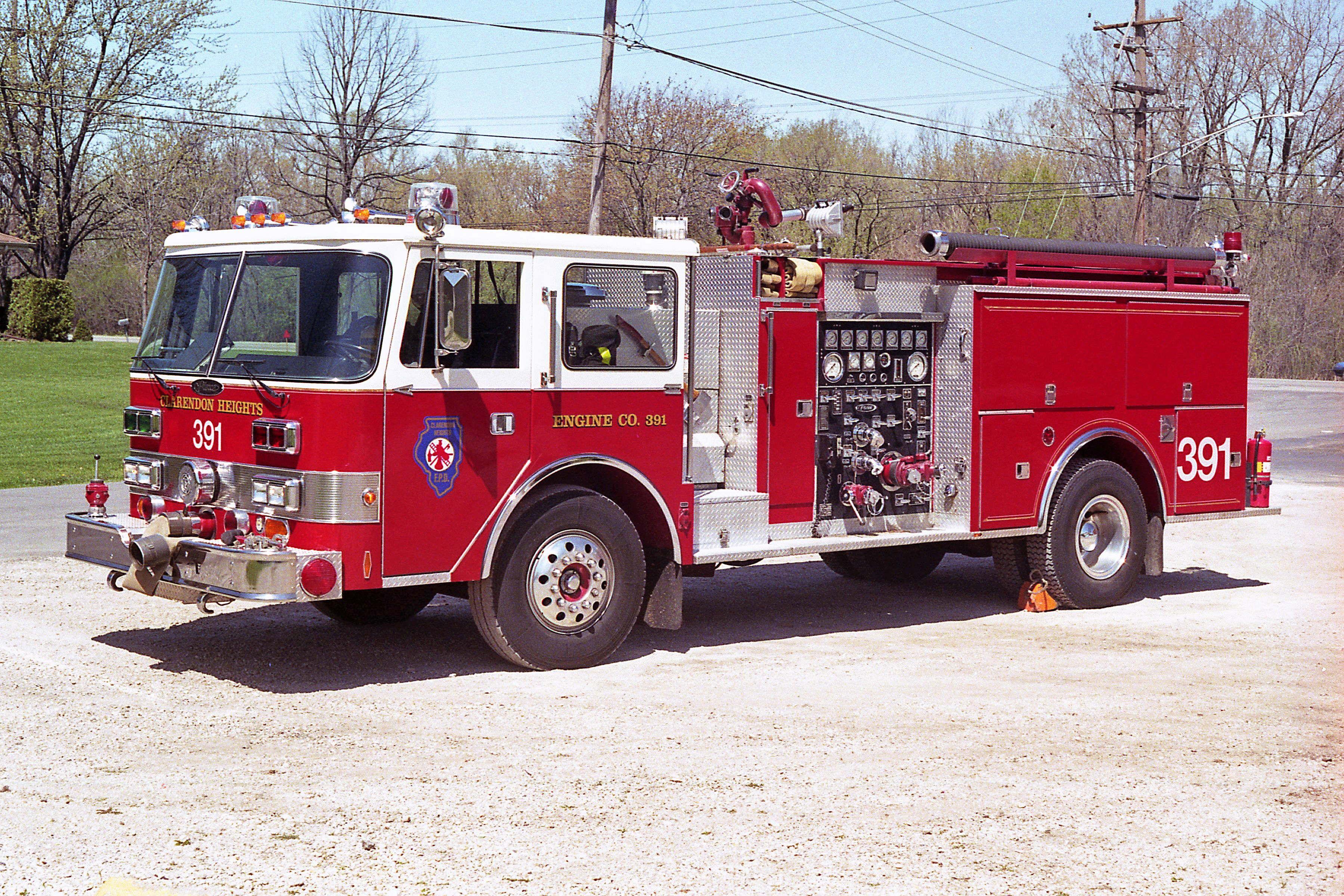 CLARENDON HEIGHTS ENGINE 391 1985 PIERCE ARROW 1500-750 # E-2558 - NOW TRI STATE ENGINE 541