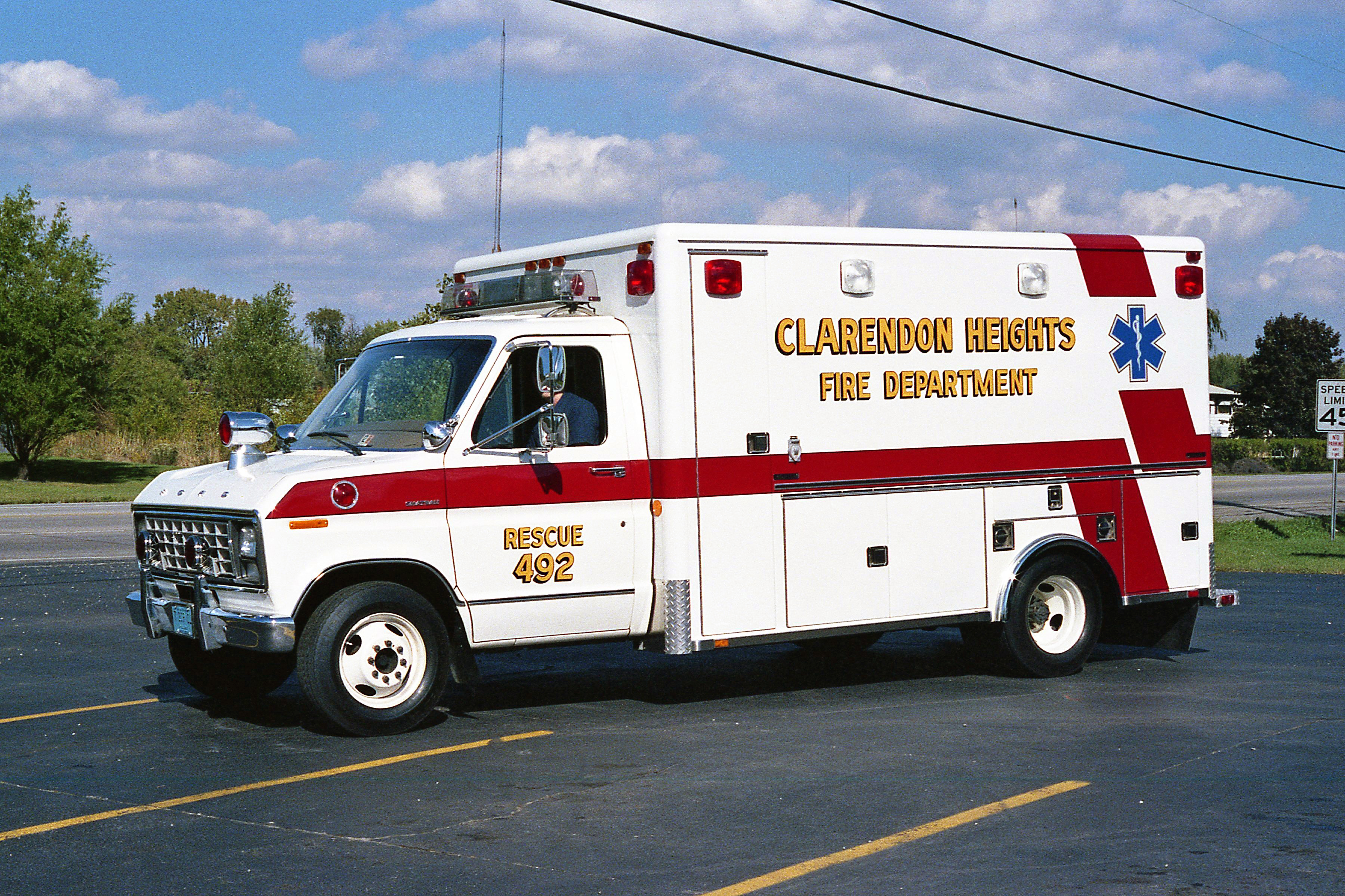 CLARENDON HEIGHTS FPD RES.492 DRIVERS SIDE