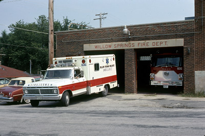 WILLOW SPRINGS AMBULANCE 606-S