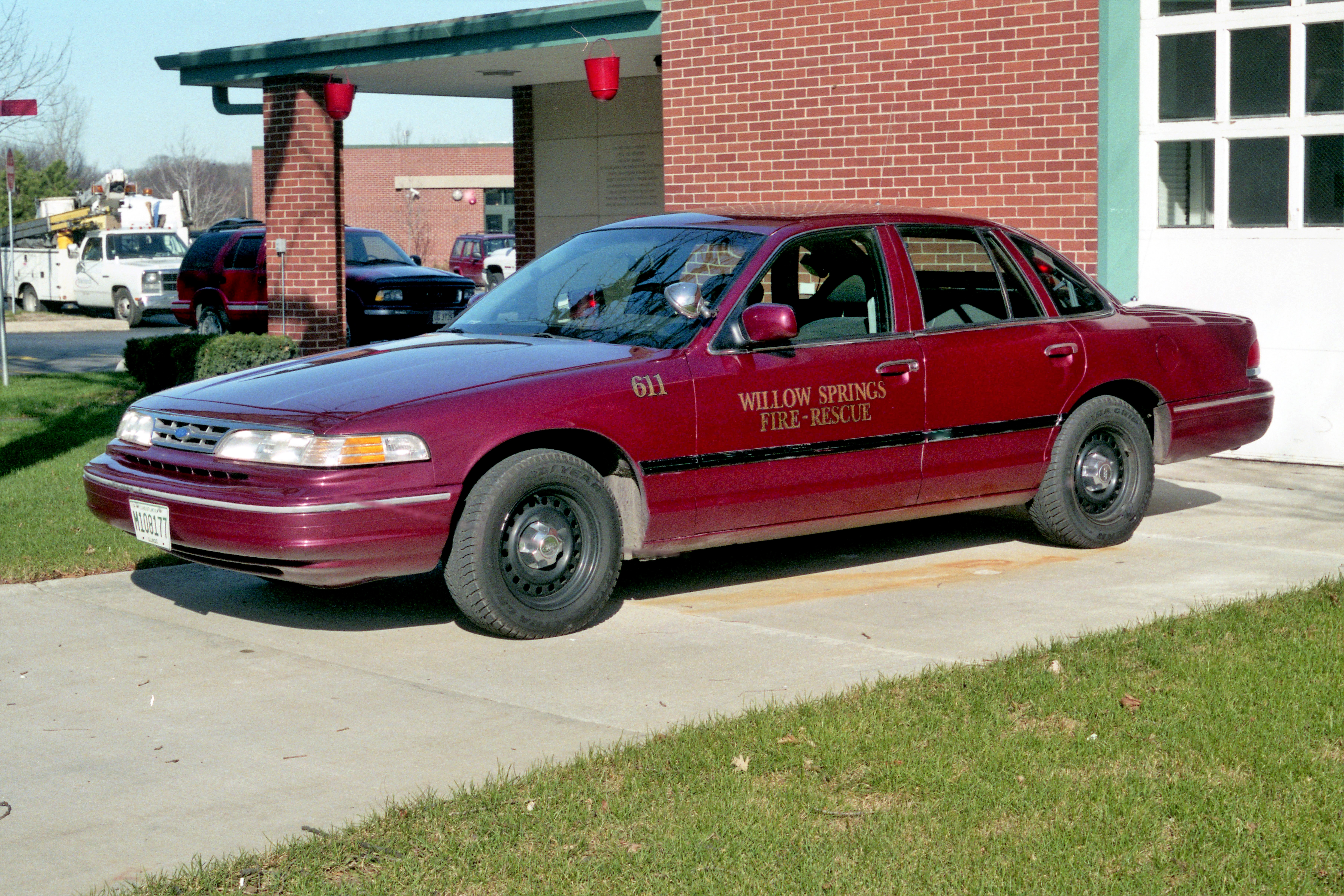 WILLOW SPRINGS CAR 611 1997 FOR CROWN VIC